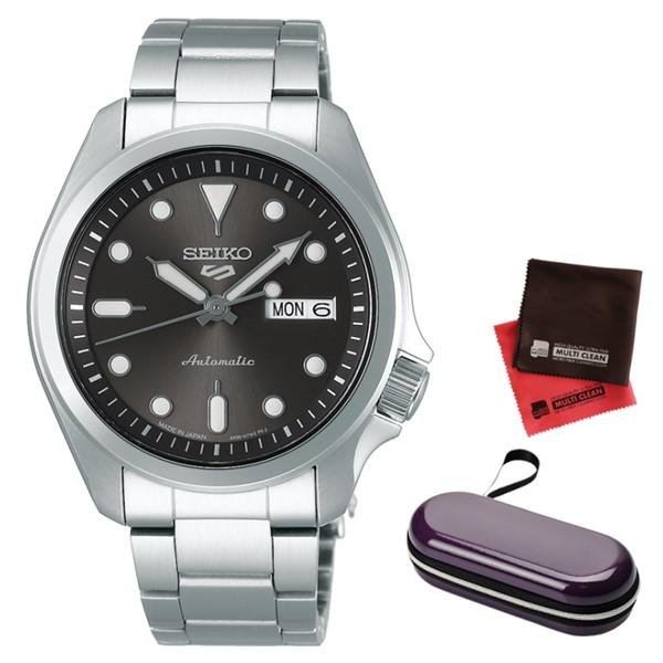 (時計ケース・クロスセット)(セイコー)SEIKO 腕時計 SBSA041 (5スポーツ)SEIKO 5 SPORTS メンズ メカニカル Sports ソリッドボーイ 流通限定モデル ステンレスバンド 自動巻き(手巻付) アナログ(国内正規品)