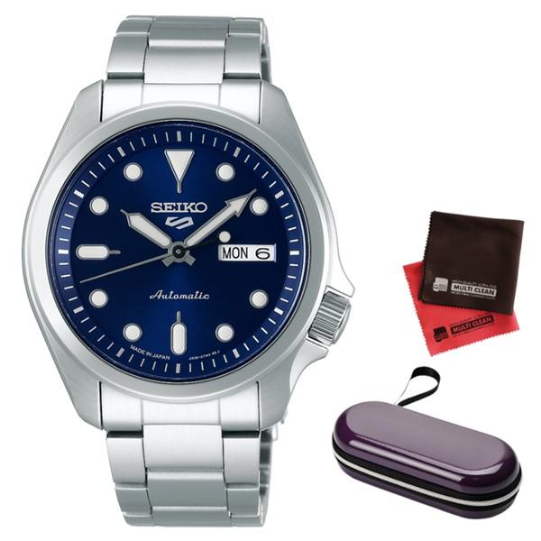 (時計ケース・クロスセット)(セイコー)SEIKO 腕時計 SBSA043 (5スポーツ)SEIKO 5 SPORTS メンズ メカニカル Sports ソリッドボーイ 流通限定モデル ステンレスバンド 自動巻き(手巻付) アナログ(国内正規品)