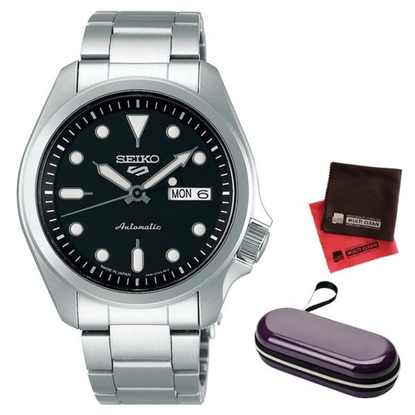 (時計ケース・クロスセット)(セイコー)SEIKO 腕時計 SBSA045 (5スポーツ)SEIKO 5 SPORTS メンズ メカニカル Sports ソリッドボーイ 流通限定モデル ステンレスバンド 自動巻き(手巻付) アナログ(国内正規品)