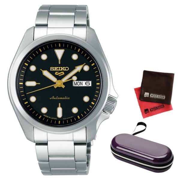 (時計ケース・クロスセット)(セイコー)SEIKO 腕時計 SBSA047 (5スポーツ)SEIKO 5 SPORTS メンズ メカニカル Sports ソリッドボーイ 流通限定モデル ステンレスバンド 自動巻き(手巻付) アナログ(国内正規品)