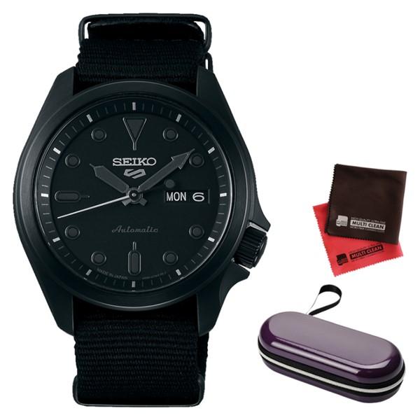 (時計ケース・クロスセット)(セイコー)SEIKO 腕時計 SBSA059 (5スポーツ)SEIKO 5 SPORTS メンズ メカニカル Sports ソリッドボーイ 流通限定モデル ナイロンバンド 自動巻き(手巻付) アナログ(国内正規品)