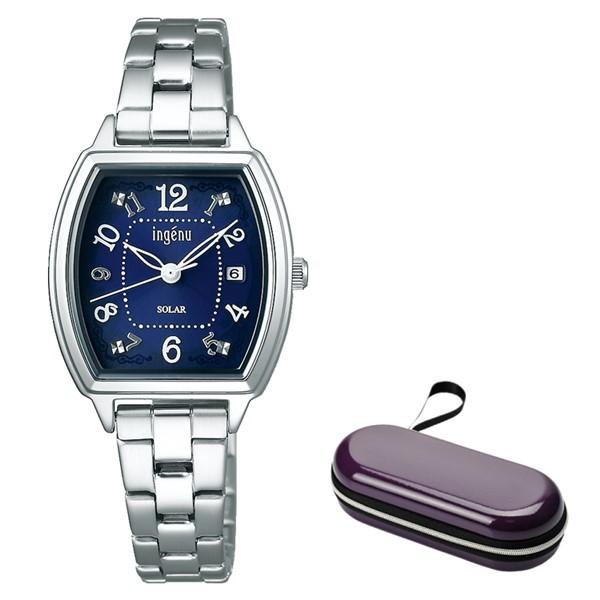 (時計ケースセット)(セイコー)SEIKO 腕時計 AHJD415 (アルバ アンジェーヌ)ALBA ingenu レディース ステンレスバンド ソーラー アナログ(国内正規品)