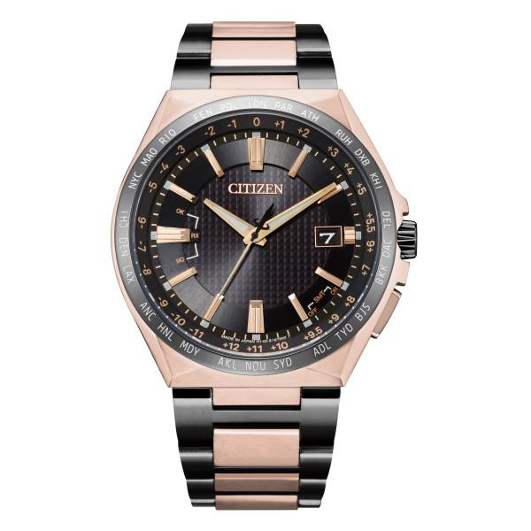 (シチズン)CITIZEN 腕時計 CB0215-77E アテッサ ATTESA メンズ エコドライブ電波 ダイレクトフライト ACT Line 限定モデル 電波ソーラー チタン アナログ(国内正規品)(7月新商品)