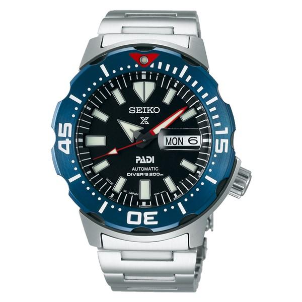 (セイコー)SEIKO 腕時計 SBDY057 (プロスペックス)PROSPEX メンズ ダイバースキューバ モンスター PADIモデル ステンレス 自動巻き(手巻付) アナログ(国内正規品)