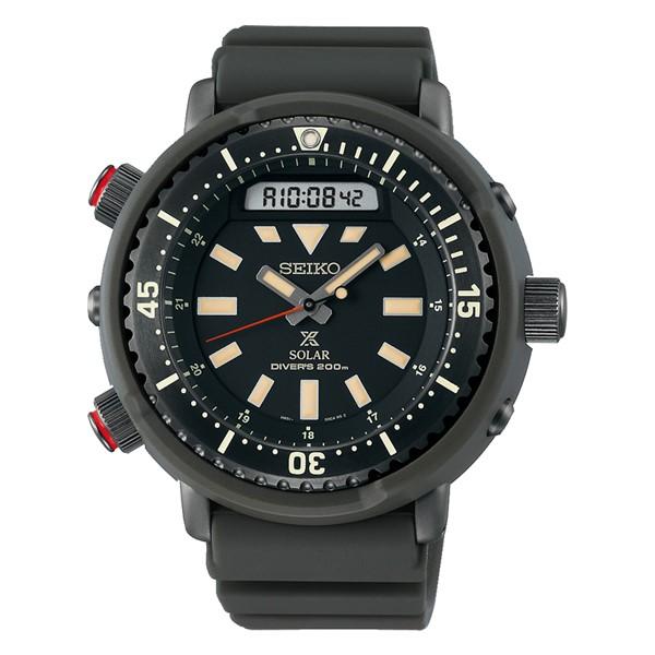 (セイコー)SEIKO 腕時計 SBEQ009 (プロスペックス)PROSPEX メンズ ハイブリット ダイバースキューバ ストリート シリコン ソーラー アナログ(国内正規品)