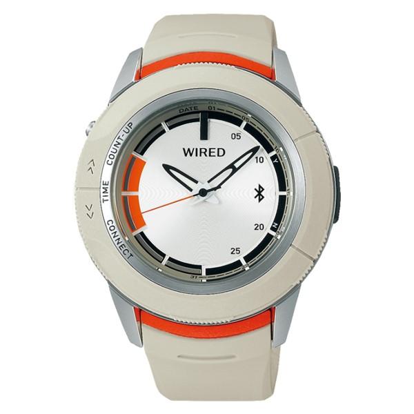 セイコー SEIKO 腕時計 AGAB414 ワイアード WIRED WW ツーダブ メンズ Bluetooth搭載 クオーツ 樹脂バンド アナログ(国内正規品)(7月新商品)