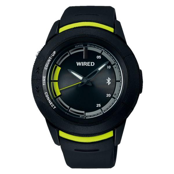 SEIKO 腕時計 AGAB415 ワイアード WIRED WW ツーダブ メンズ Bluetooth搭載 クオーツ 樹脂バンド アナログ(国内正規品)(7月新商品)