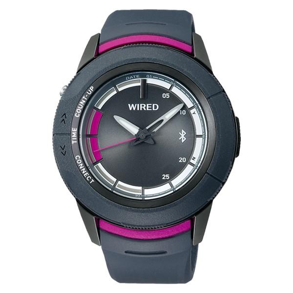 セイコー SEIKO 腕時計 AGAB416 ワイアード WIRED WW ツーダブ メンズ Bluetooth搭載 クオーツ 樹脂バンド アナログ(国内正規品)(7月新商品)