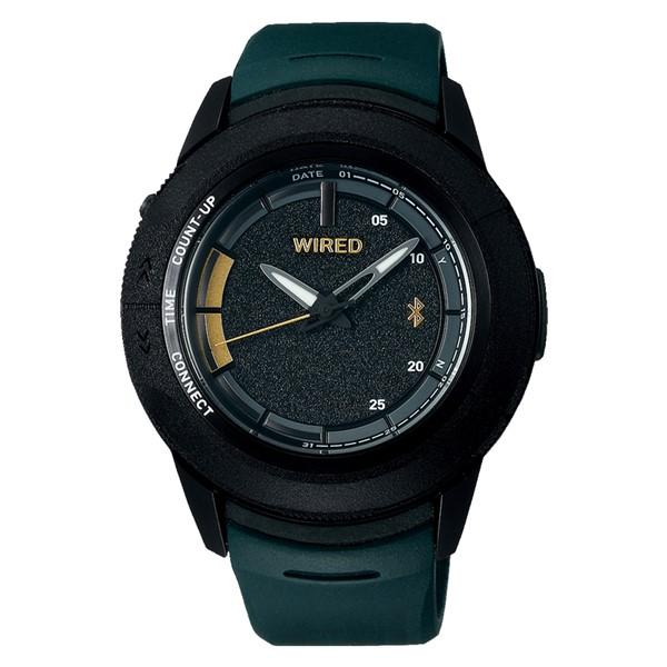 セイコー SEIKO 腕時計 AGAB701 ワイアード WIRED WW ツーダブ メンズ 池田大亮コラボ 限定モデル Bluetooth搭載 クオーツ 樹脂バンド アナログ(国内正規品)(7月新商品)