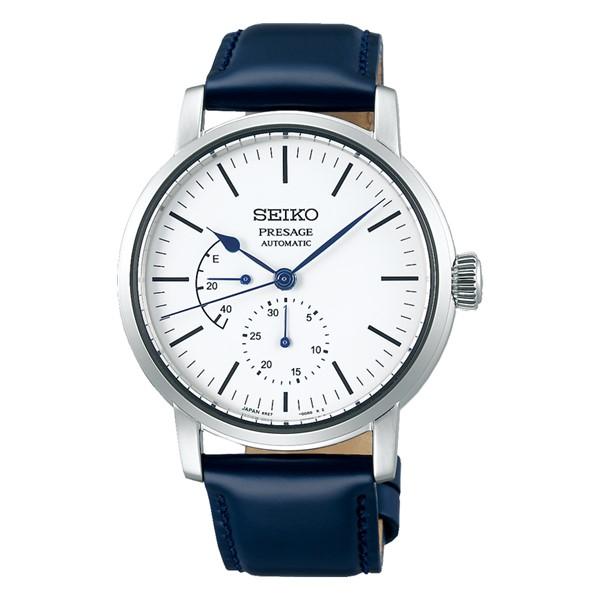 (セイコー)SEIKO 腕時計 SARW055 (プレザージュ)PRESAGE メンズ プレステージライン 琺瑯 コアショップ専用 馬革 自動巻き(手巻付) アナログ(国内正規品)