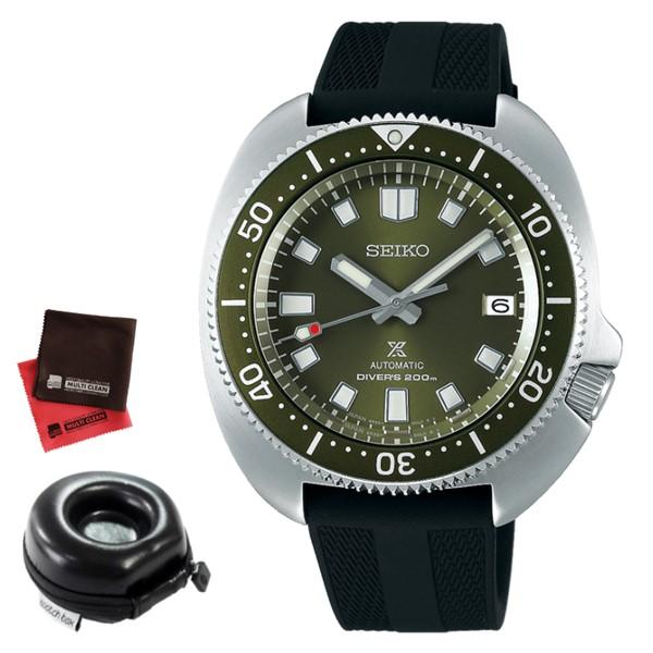 (時計ケース丸型・クロスセット)セイコー SEIKO 腕時計 SBDC111 プロスペックス PROSPEX 2ndダイバーズ 現代デザイン メンズ コアショップ専用 自動巻き(手巻付) シリコンバンド アナログ(国内正規品)(7月新商品)