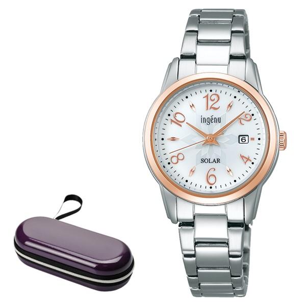 (時計ケースセット)セイコー SEIKO 腕時計 AHJD416 アルバ アンジェーヌ ALBA ingenu レディース ソーラー ステンレスバンド アナログ(国内正規品)(7月新商品)