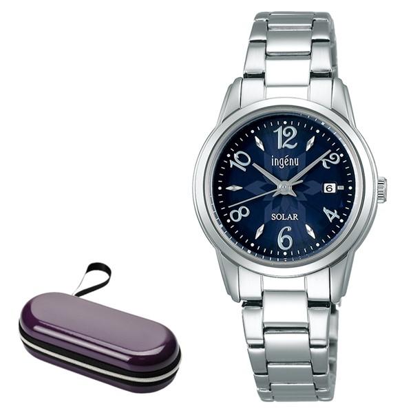 (時計ケースセット)セイコー SEIKO 腕時計 AHJD417 アルバ アンジェーヌ ALBA ingenu レディース ソーラー ステンレスバンド アナログ(国内正規品)(7月新商品)