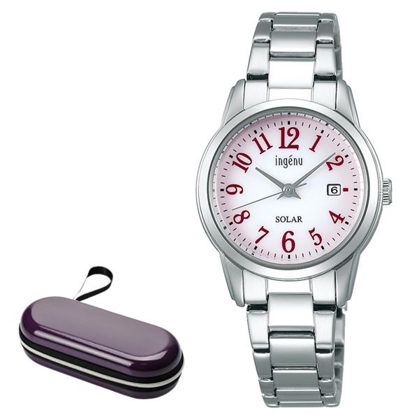 (時計ケースセット)セイコー SEIKO 腕時計 AHJD418 アルバ アンジェーヌ ALBA ingenu レディース ソーラー ステンレスバンド アナログ(国内正規品)(7月新商品)