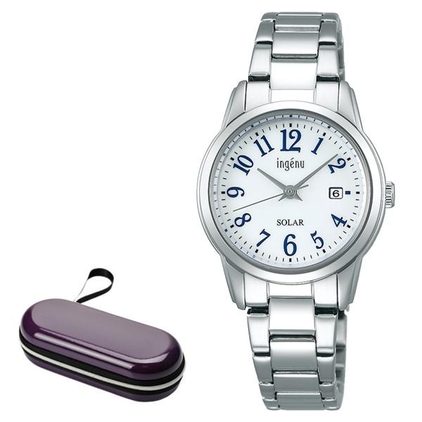 (時計ケースセット)セイコー SEIKO 腕時計 AHJD419 アルバ アンジェーヌ ALBA ingenu レディース ソーラー ステンレスバンド アナログ(国内正規品)(7月新商品)