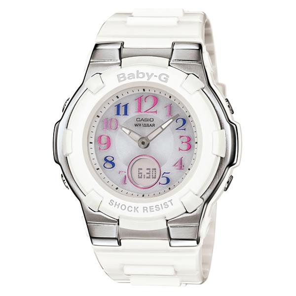 CASIO(カシオ) 腕時計 BABY-G(ベイビーG) BGA-1100GR-7BJF 電波タフソーラー 樹脂バンド アナデジ ホワイト (BGA1100GR7BJF)(国内正規品)