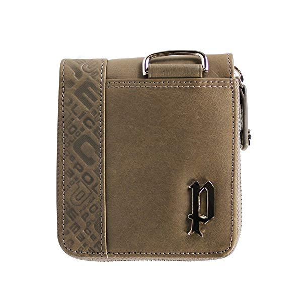 POLICE(ポリス) CIRCUIT 二つ折り財布 PA56102-35(カーキ)【正規輸入品】 '【メンズ小物】
