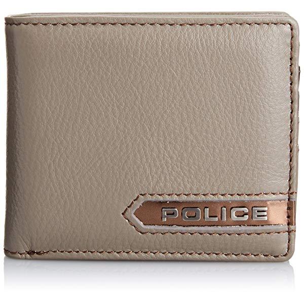 POLICE(ポリス) METALLIC 二つ折り財布 PA-56900-60(グレー)【正規輸入品】 '【メンズ小物】
