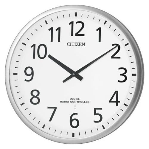 リズム時計 CITIZEN(シチズン)【2針電波掛時計】スリーウェイブM821 4MY821-019