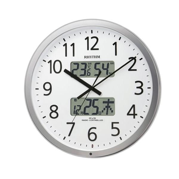 RHYTHM(リズム)プログラムカレンダー【電波掛け時計】 403SR 4FN403SR019(4FN403SR19)【プログラムカレンダー】【代引き手数料・送料無料】