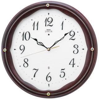 SEIKO(セイコー)EMBLEM(エムブレム)セイコークロック 【電波掛時計】HS551B【代引き手数料・送料無料】