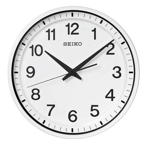 セイコークロック (SEIKO) 【衛星電波掛時計】 「セイコースペースリンク」GP214W(ホワイト)【代引き手数料・送料無料】