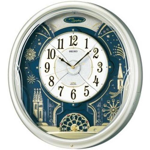 セイコークロック (SEIKO) 【電波メロディ掛時計】 アミューズからくり時計 RE561H 【送料無料】【ラッピング不可】