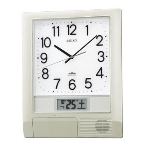 セイコークロック (SEIKO) 【32チャンネルプログラム掛時計】 PT201S【代引き手数料・送料無料】