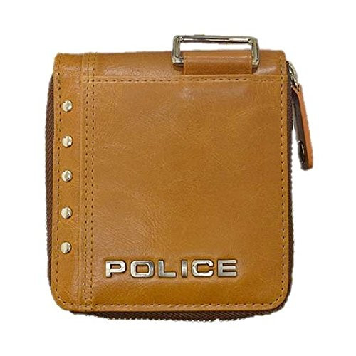 POLICE(ポリス)【正規輸入品】Avoid ? 二つ折り財布 キャメルPA-58601-25【代引き手数料・送料無料】