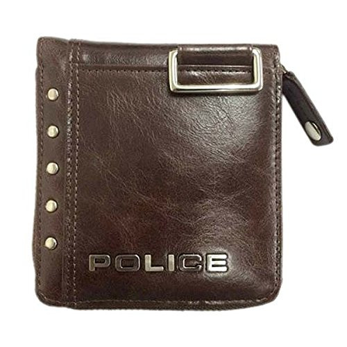 【正規輸入品】 POLICE(ポリス) 【財布】 Avoid II 二つ折り財布 チョコPA-58601-29 [5860129 58601-29] 【代引き手数料・送料無料】