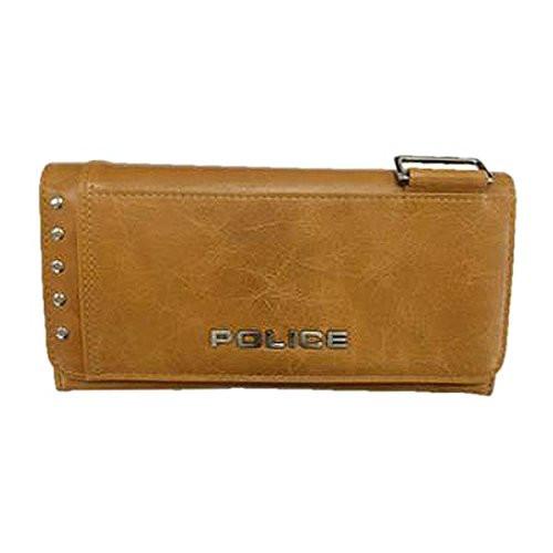 POLICE(ポリス)【正規輸入品】AvoidII 長財布 キャメル PA-58603-25