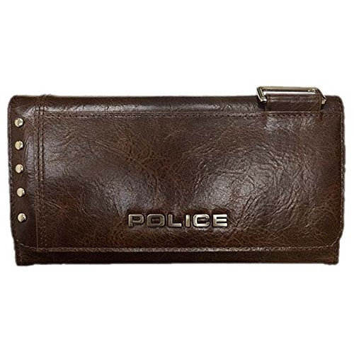 POLICE(ポリス)【正規輸入品】AvoidII 長財布 チョコ PA-58603-29