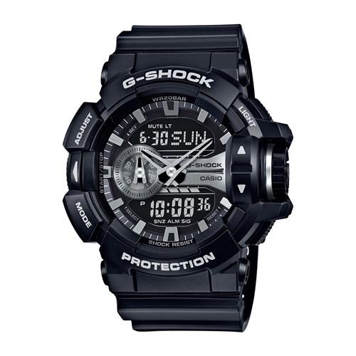 【国内正規品】 CASIO(カシオ) 【腕時計】 GA-400GB-1AJF G-SHOCK[Gショック] 【ショックレジスト 樹脂バンド】【アナデジ メンズ】[GA400GB1AJF]【送料無料】