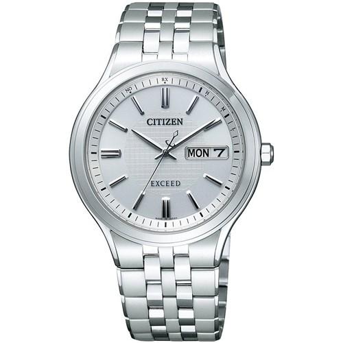 【国内正規品】CITIZEN(シチズン) 【腕時計】 AT6000-61A [AT600061A] (旧型番:AT6000-52A) EXCEED[エクシード] 【Eco-Drive エコ・ドライブ電波時計 デイ&デイトモデル メンズ】