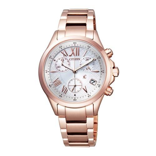 【無料バンド調整可】CITIZEN(シチズン) 【腕時計】 FB1403-53A xC[クロスシー]【エコ・ドライブ レディース 多針アナログ表示 ステンレスバンド】[FB140353A]