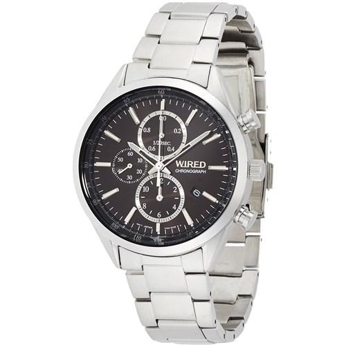 【国内正規品】【腕時計】 AGAV109 WIRED[ワイアード] ニュースタンダード 【ソーラー クロノグラフ】【メンズ】