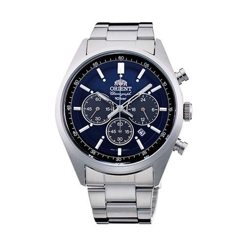 【国内正規品】 ORIENT(オリエント) 【腕時計】 Neo70's[ネオセブンティーズ] WV0021TX 【ロイヤルブルー ソーラー ステンレスバンド 多針アナログ クロノグラフ メンズ】 【代引き手数料・送料無料】