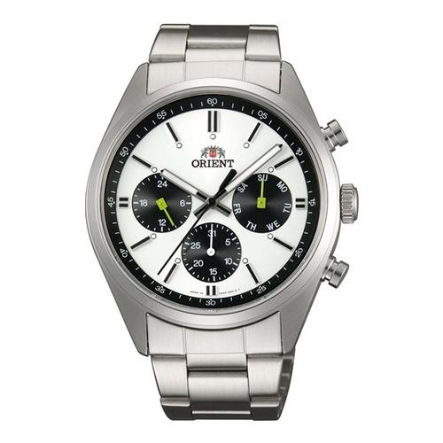 【国内正規品】ORIENT(オリエント) 【腕時計】 WV0011UZ Neo70's[ネオセブンティーズ]【PANDA パンダ】【クオーツ 多針アナログ ステンレスバンド メンズ】