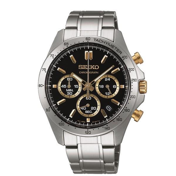 【国内正規品】SEIKO(セイコー)【腕時計】 SBTR015 SPIRIT[スピリット]【クロノグラフ】【クオーツ 多針アナログ ステンレスバンド メンズ】