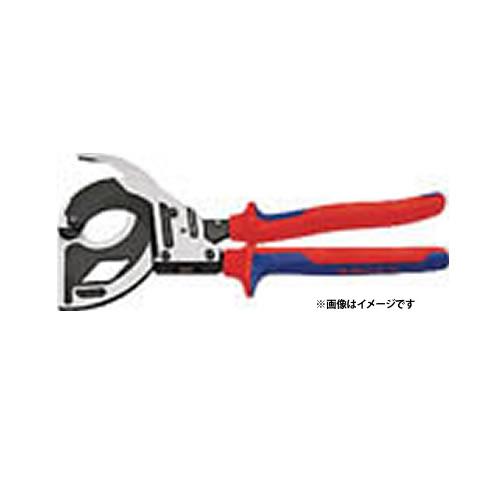 【KNIPEX社】 【電設工具/ケーブルカッター】 ラチェットケーブルカッター 320mm (4469674)【ラッピング不可】