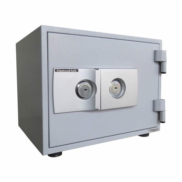 (メーカー直送)(代引不可) ダイヤセーフ 個室タイプ耐火金庫 2キーロックタイプ ホテル&プライベートセーフ C30-2K (ラッピング不可)