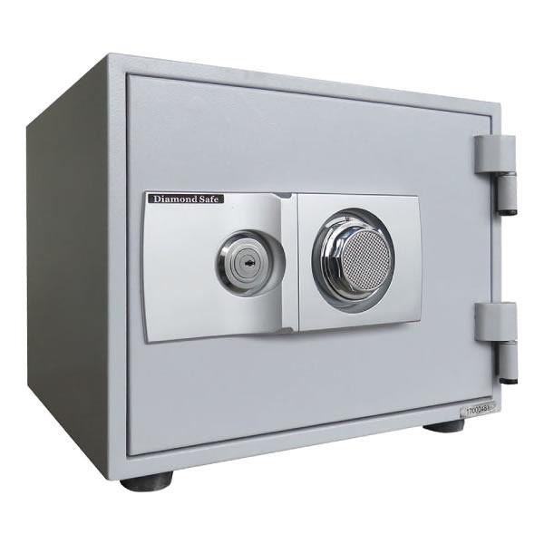 (メーカー直送)(代引不可) ダイヤセーフ 個室タイプ耐火金庫 ダイヤル+キーロックタイプ ホテル&プライベートセーフ C30-KD (ラッピング不可)