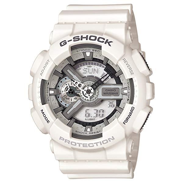 【国内正規品】 CASIO(カシオ) 【腕時計】 GA-110C-7AJF G-SHOCK[ジーショック] [GA110C7AJF] 【ホワイト 白 メンズ】