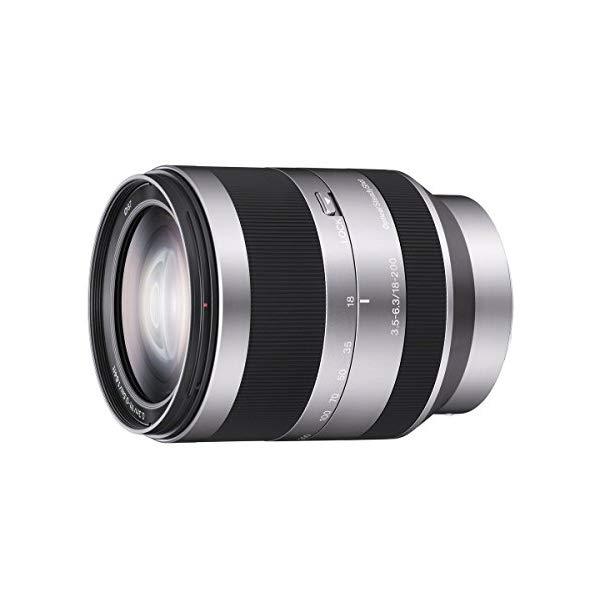 ソニー 高倍率ズームレンズ E 18-200mm F3.5-6.3 OSS 【SEL18200】【NEX用】