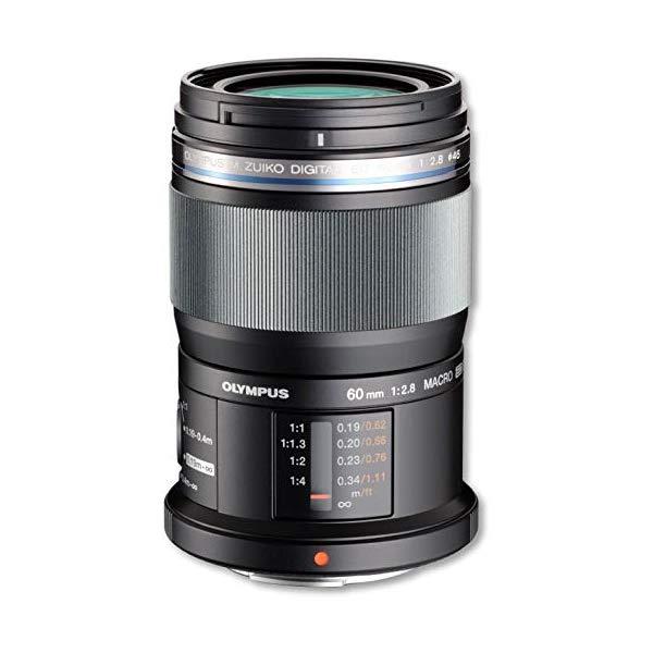 オリンパス M.ZUIKO DIGITAL ED 60mm F2.8 Macro 防塵防滴 望遠マクロレンズ 【マイクロフォーサーズ用】