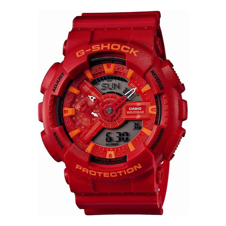 CASIO カシオ 腕時計 G-SHOCK(Gショック) GA-110AC-4AJF[GA110AC4AJF]【Blue and Red Series(ブルー&レッドシリーズ)腕時計 メンズ アナデジ】【代引き手数料・送料無料】