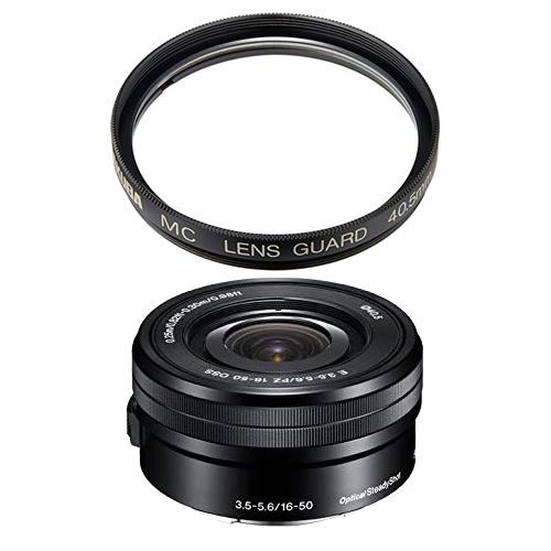 【レンズ保護フィルター付】 ソニー 標準パワーズームレンズ E PZ 16-50mm F3.5-5.6 OSS 【SELP1650】【NEX用】