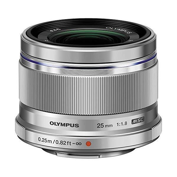 オリンパス 大口径標準レンズ M.ZUIKO DIGITAL 25mm F1.8 シルバー 【マイクロフォーサーズ用】