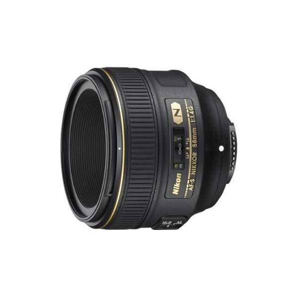 Nikon 大口径標準単焦点レンズ AF-S NIKKOR 58mm f/1.4G