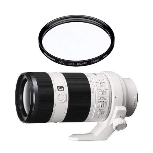【欠品:納期1ヶ月程度】 【レンズ保護フィルター付】 ソニー 望遠ズームレンズ FE 70-200mm F4 G OSS 【SEL70200G】【フルサイズEマウント】